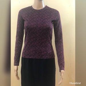 Diane von Furstenberg long sleeve top